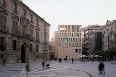 Raphael Moneo - Murcia city hall, 1998