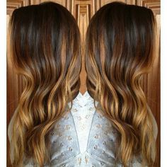 Love this colour placement- would grow out subtly at the roots, and ends aren't quite a solid colour, there's still a little bit of darkness.