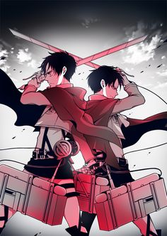 Imagem de attack on titan, anime, and levi