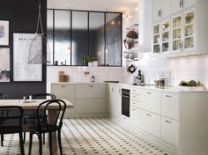 Ballingslöv - Lovely pale green kitchen Photo Marcus Lawett Styling Åsa Dyberg