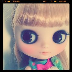custom middie #blythe love. those eyes! those lips!