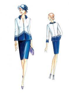 Patron de couture Vestes / Etoles 3310
