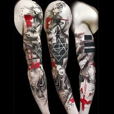 TrashPolka® by Simone Pfaff & Volko Merschky #trashpolka @buenavistatattooclub #volkomerschky #simonepfaff #trashpolkatattoo #realistictrashpolka #tattoo #trashtattoo @cheyennetattooequipment #cheyenne