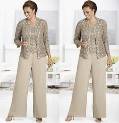 plus size mother of the bride pant suits - Google Search