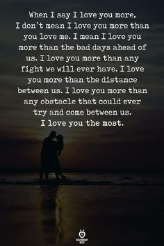 This just conveyed everything....I love you...❤