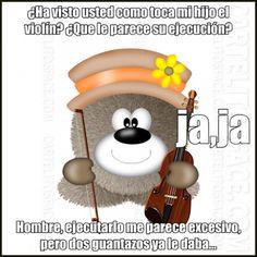 Como toca mi hijo el violín #chistes