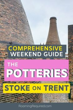 Spend your next weekend pottering about Stoke-on-Trent in Staffordshire to discover the famous Potteries including Middleport Pottery, Burleigh, Emma Bridgewater, Gladstone Pottery Museum, Travel Ideas, Travel Inspiration, Travel Tips, Monkey Forest, Gladstone, Emma Bridgewater, Short Break, Stoke On Trent, England Uk