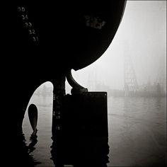 Ship Rudder Islais Creek, © Fred Lyon