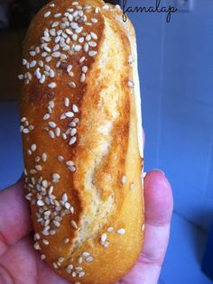 """Cocina fácil """"sin gluten"""": Pulguitas y pan hamburguesa (sin mixes harinas comerciales, ni huevo)"""