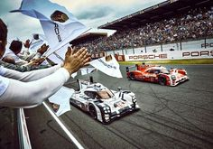 Winning the 24 hours of Le Mans 919