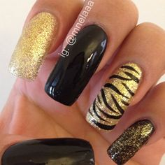 I like the black and gold colors together.