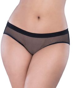 822daf6633 Love this Black Fishnet Backless Hipster - Plus on  zulily!  zulilyfinds  Black Fishnets