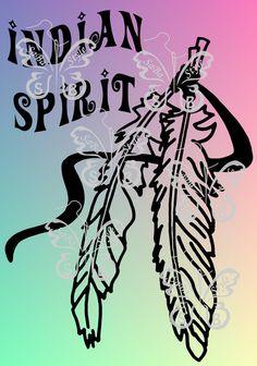 """Plotterdatei """"Indian Spirit"""" von SaBa´Style by Sandra Balzer auf DaWanda.com"""