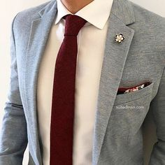 """Loving the accessories and stylings from @Suited_Man including their wide selection of ties and lapel pins 