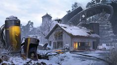 ArtStation - Ilya Dykov's submission on Beyond Human - Environment Design