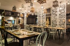 Green Peppercorn Thai Takeaway, Green Peppercorn, Chandelier, Ceiling Lights, Table, Furniture, Home Decor, Candelabra, Decoration Home