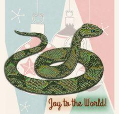 Holiday Snake | by China Rose