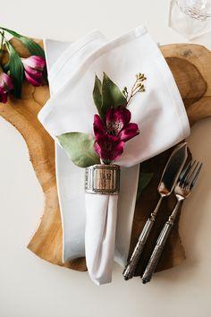 Servietten Ideen für die Hochzeit wedding napkin ideas Fotos: Sandra Hützen Dekoration: Melanie Noormann