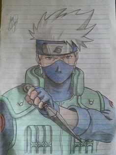 Kakashi hatake naruto desenho cool stuff наруто, аниме e идеи для рисунков. Anime Naruto, Naruto Kakashi, Naruto Shippuden Sasuke, Naruto Art, Naruto Drawings, Naruto Sketch Drawing, Kakashi Drawing, Kawaii Anime, Naruto Painting