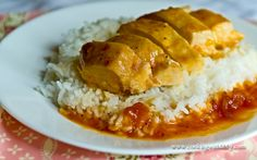Russian Apricot Chicken {Slow Cooker}