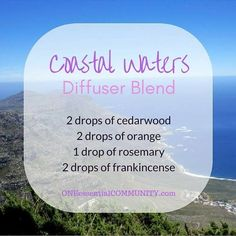 Best Summer Esssential Oil Diffuser Blends with FREE PRINTABLE-- recipes that�