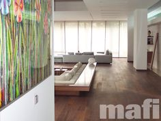 Timber Floors   USA Walnut   Sanded Natural Oil   mafi