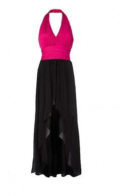 99573d82a377 Dyona   Spoločenské šaty s trendy šifónovou sukňou