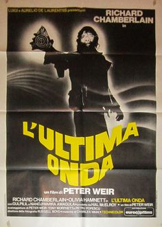 THE LAST WAVE (Dir. Peter Weir, 1977) - Italian poster