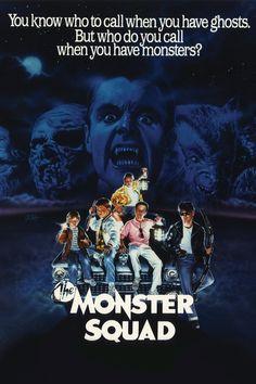 The Monster Squad Movie Poster - Andre Gower, Robby Kiger, Stephen Macht  #TheMonsterSquad, #AndreGower, #RobbyKiger, #StephenMacht, #FredDekker, #Comedy, #Art, #Film, #Movie, #Poster