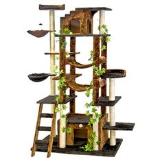 """You'll love the 77"""" Cat Tree at Wayfair - Great Deals on all Pets  products with Free Shipping on most stuff, even the big stuff."""