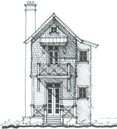 The High Hickory Cabin House Plan (NC0021) Design from Allison Ramsey Architects