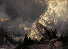 Caida de una avalancha en los Grissons W.Turner Galería Virtual http://territoriotoxico.wordpress.com/2014/11/24/willian-turner-el-artista-y-el-color/#jp-carousel-1059