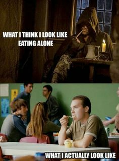 What I (think I) look like when I'm eating alone | #humor #PipeSmoking #LOTR