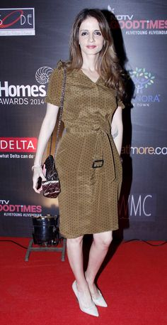 Sussanne Khan at an awards event. #Bollywood #Fashion #Style #Beauty #Page3