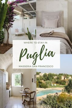 Where to Stay in Puglia: Masseria San Francesco - Petite Suitcase