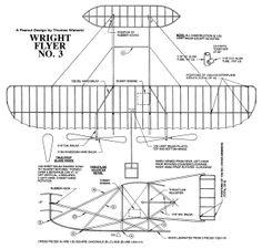 Wright Flyer, Hermanos Wright, Balsa Wood Models, Propeller Plane, Airplane Crafts, Paper Moon, Aircraft Design, Paper Models, Vintage Design