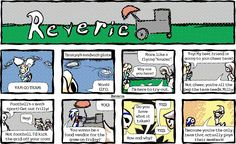 "Reverie comic | ""Flying ""Saucer"""" 