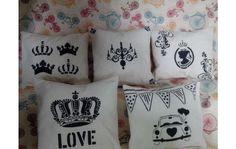 almohadones decorativos vintage