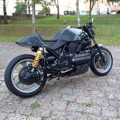 BMW K100 mit Öhlins