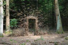 """Passage"" (2007) by German land artist Cornelia Konrads"