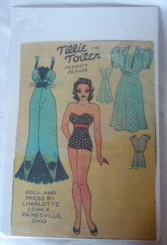Tillie the Toiler 1939 Do not have month or day. From Ebay