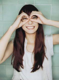 Yui Aragaki lovely smile(*^▽^*)