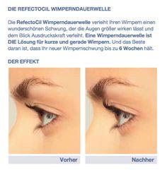 Die RefectoCil Wimperndauerwelle verleiht Ihren Wimpern einen wunderschönen Schwung, der die Augen größer wirken lässt und dem Blick Ausdruckskraft verleiht. eine Wimperndauerwelle ist Die lösung für kurze und gerade Wimpern. Und das Beste daran ist, dass Ihr neuer Wimpernschwung bis zu 6 Wochen hält. http://www.wimpernwuensche.de/wimperndauerwelle  #Wimpernwelle #Wimperndauerwelle