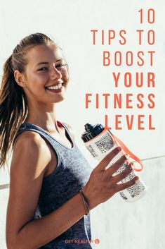 Check out these 10 tips to help you boost your fitness level! These are habits that all fit people have, and if you adopt them you will DEFINITELY feel better, look better, and be on your way to being the healthiest YOU! #fitness #boostyourfitness