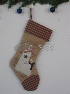 Christmas stocking ( Christmas tree graphic )