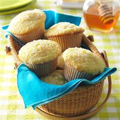 Ginger & Lemon Muffins Recipe -A microplane grater (also used for citrus zest and hard cheese) works well for grating ginger. Fresh ginger can be frozen up to 6 months; just break off what you need for a recipe.—Linda Green, Kilauea, Kauai, Hawaii