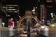 Downtown Buffalo NY at night - pictures (New York, York: theatre, new construction) - City-Data Forum