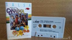 ORQUESTA CANAIMA. SALSA / DANDO VUELTAS. MC / JAZMÍN - 1993 / CALIDAD LUJO.