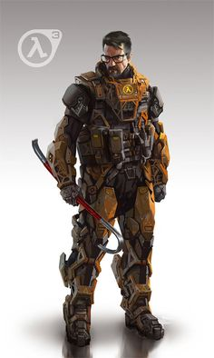 Fake half-life 3 armor design.