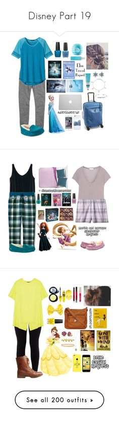 """""""Disney Part 19"""" by gretchenlover ❤ liked on Polyvore featuring Madewell, prAna, UGG Australia, Tumi, Casetify, OPI, Eos, Bliss, Pandora and Bling Jewelry"""